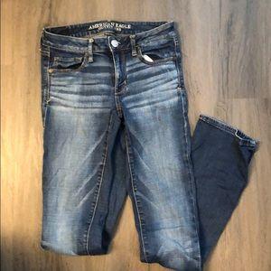 American Eagle Jeans size 6 XLong Skinny